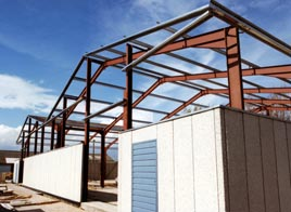 We use the latest CAD systems to design our steel structures