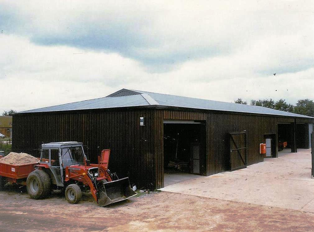 Bespoke steel frame building from Leofric